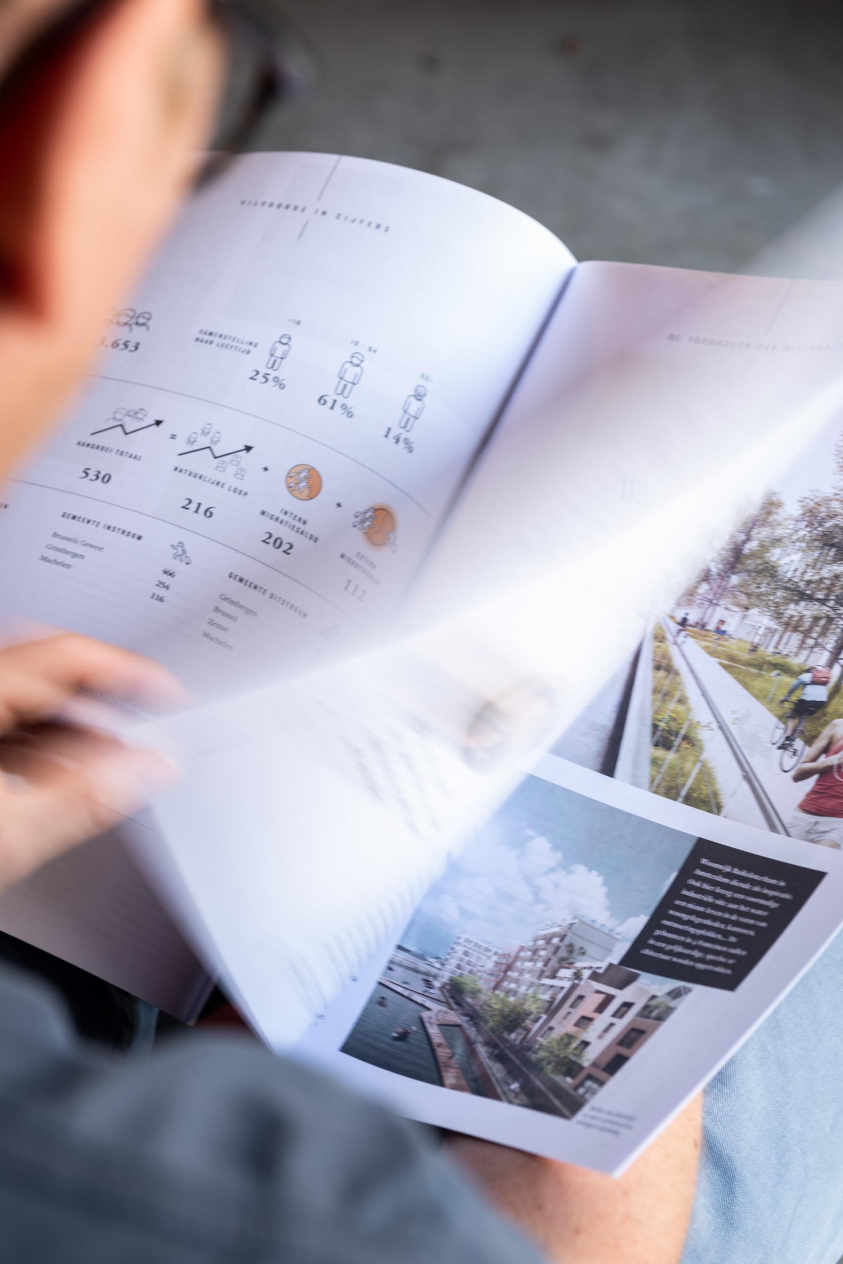 Een goed magazine vindt de perfecte balans tussen vorm en inhoud, tussen teksten en fotografie - zoals hier in het 4 Fonteinen-magazine