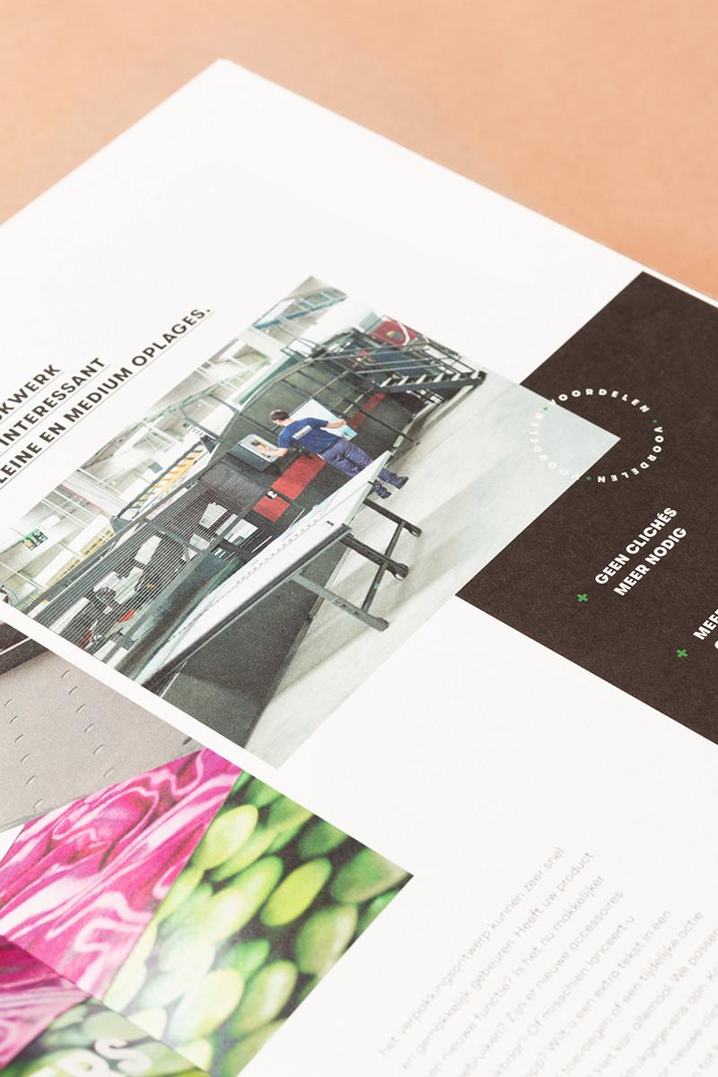 Een goede bedrijfsbrochure bestaat uit een mix van sterke storytelling en doordacht design