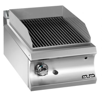 Het assortiment houtskoolgrill DOMINA 700 bestaat uit modellen met 1/2 en volledige module, met...