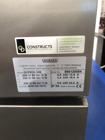 Het compacte model voor groot gebruiksgemak en met een geïntegreerde droger en osmose. Met een...
