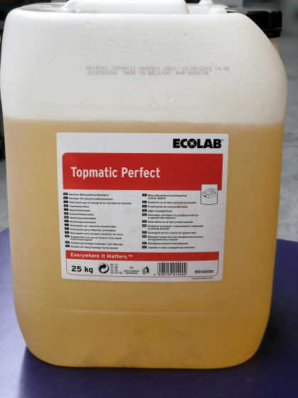 Chloor- en fosfaatvrij. Krachtig vaatwasproduct voor het probleemloos verwijderen van sterke...