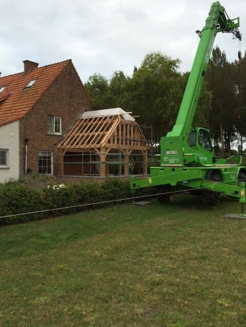 Eiken bijgebouw met kraan - Cocquyt E&K in samenwerking met Cornelis Hout - 1.jpg