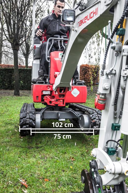 1002 Minigraver 1 ton Takeuchi TB210R 6.jpg