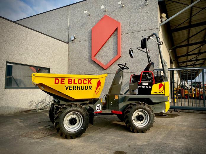 3204 - Dumper op banden laadvermogen 2 ton Wacker Neuson 2001 1.jpg
