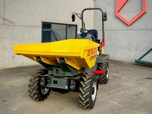 3204 - Dumper op banden laadvermogen 2 ton Wacker Neuson 2001 2.jpg