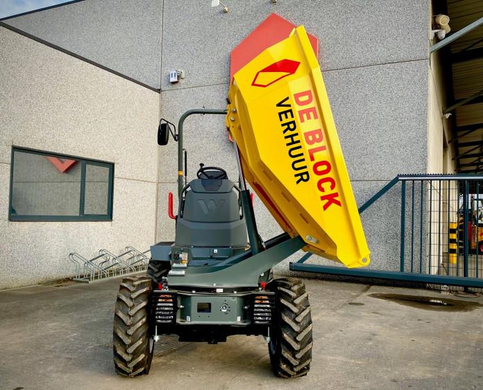 3204 - Dumper op banden laadvermogen 2 ton Wacker Neuson 2001 3.jpg