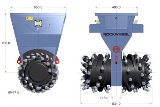 Demolitionfrees kranen 13-21 ton CW30 Rockwheel D15.png