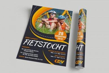 Affiche Fietstocht CD&V Ledegem