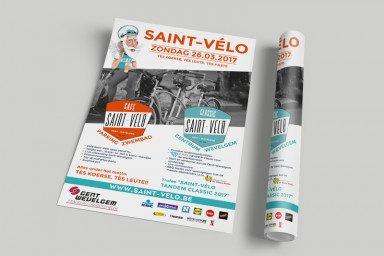 Affiche Saint-Vélo