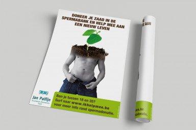 Affiche Spermadonatie