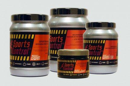 Verpakkingen Sports Control producten