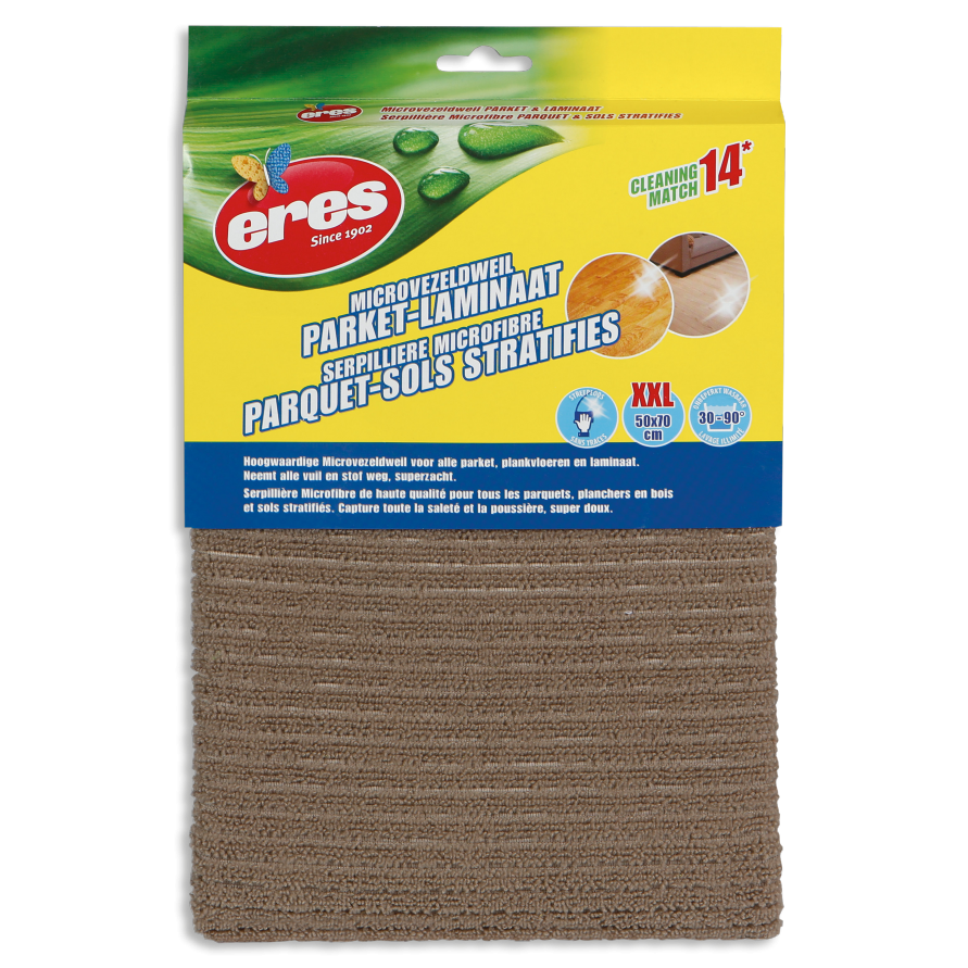MICROFIBRE MOP FOR PARQUET AND LAMINATE FLOORS