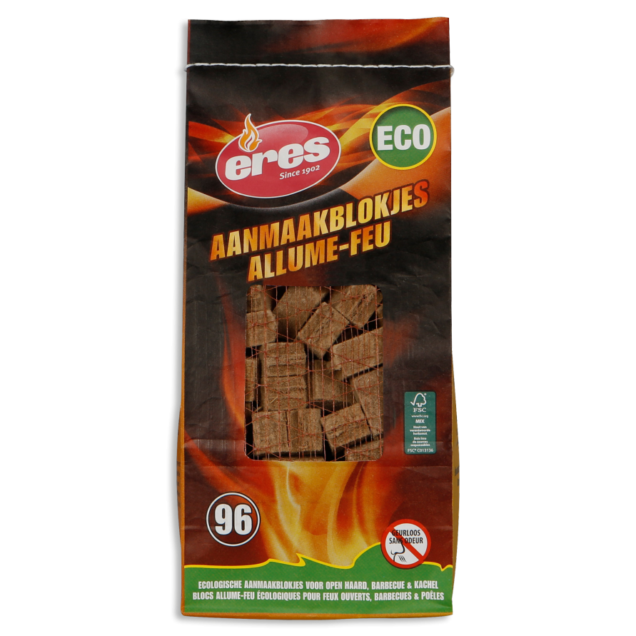 ECO FIRE-LIGHTERS 96 pieces