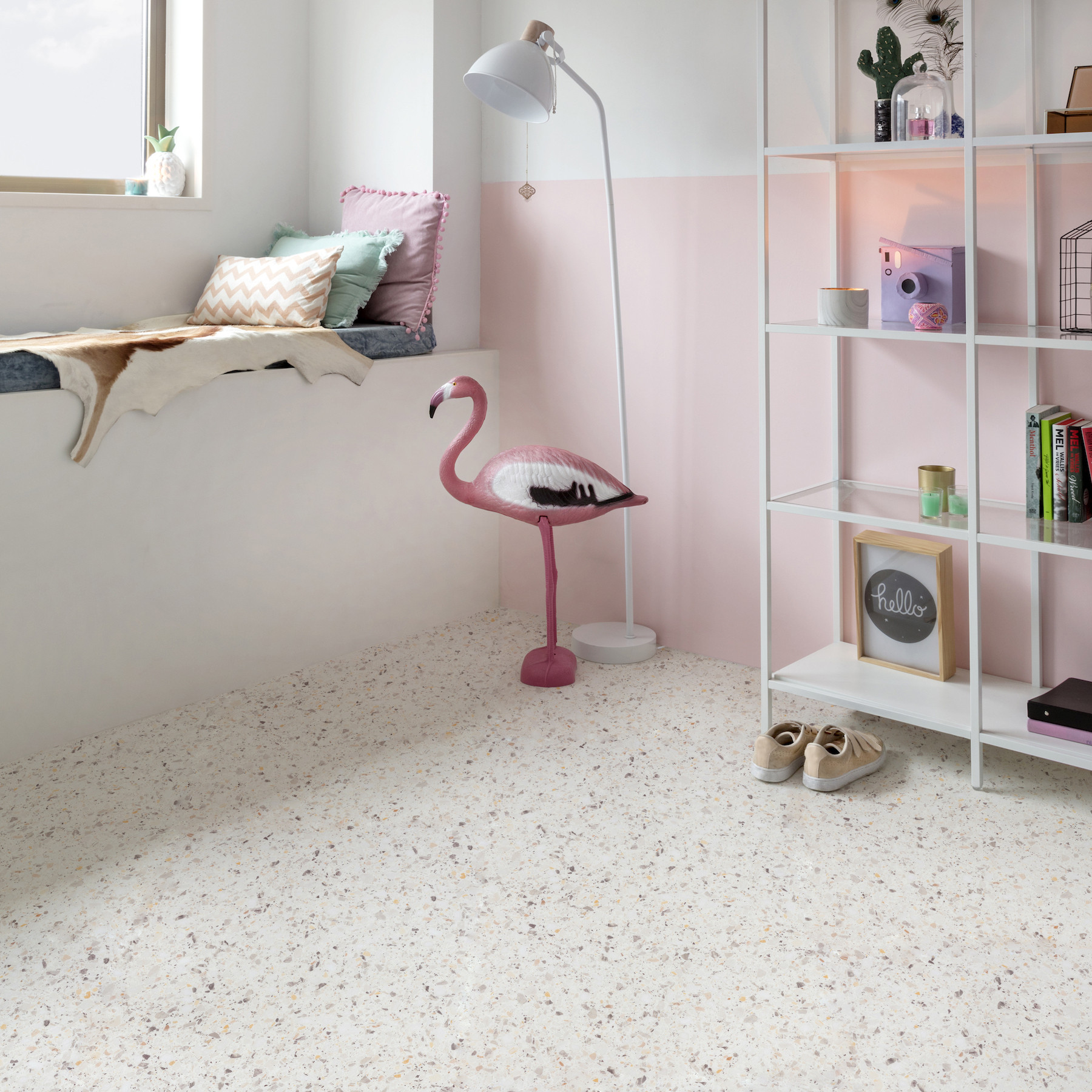 The joyful Terrazzo speckles are back on track!