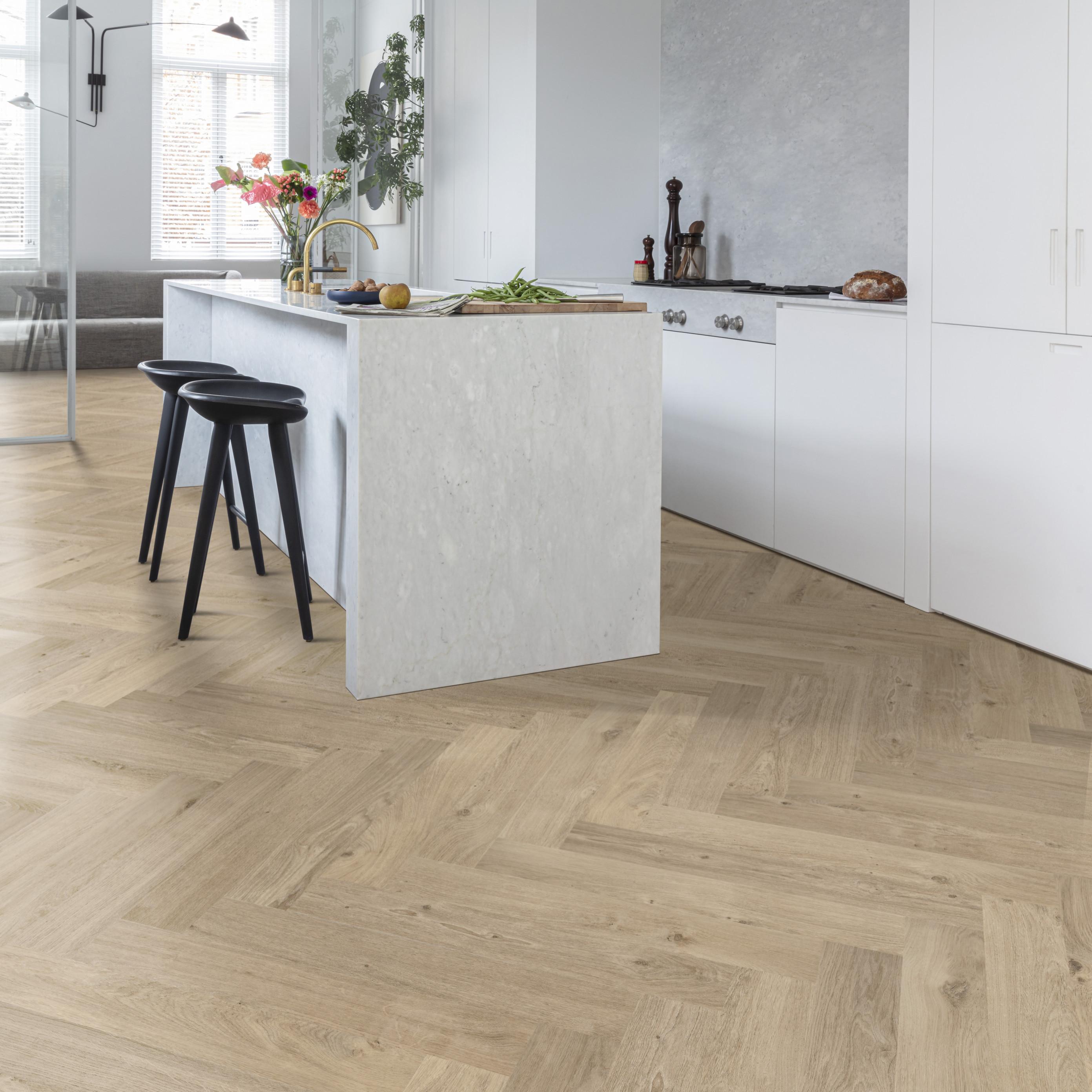 Visgraat vloer: stijlvol én makkelijk