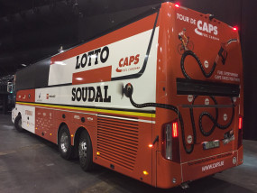 Caps en G&V sponsoren Lotto Soudal