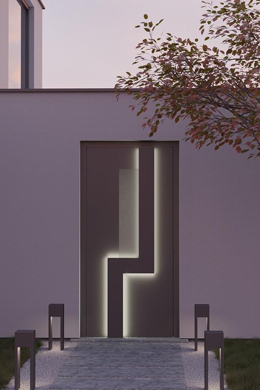 Porte d'entrée de maison : Voici la gamme Bauhaus