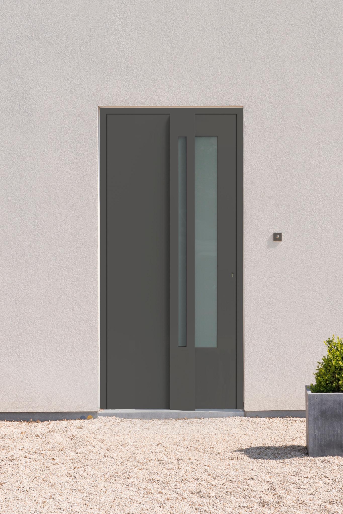 Porte d'entrée de maison : Voici la gamme Minimal