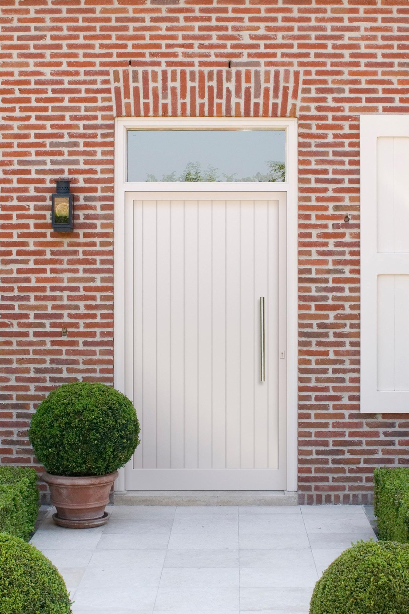 Porte d'entrée de maison : Voici la gamme Rainuré