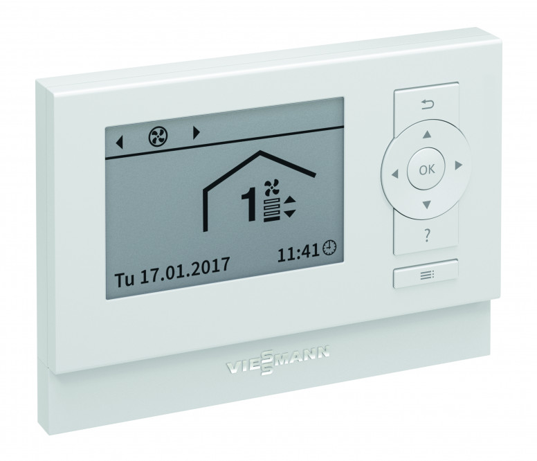 viessmann thermostaat Vitotronic kamerregeling