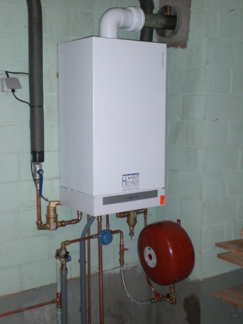 viessmann Vitodens combi sanitair warm water verwarming cv