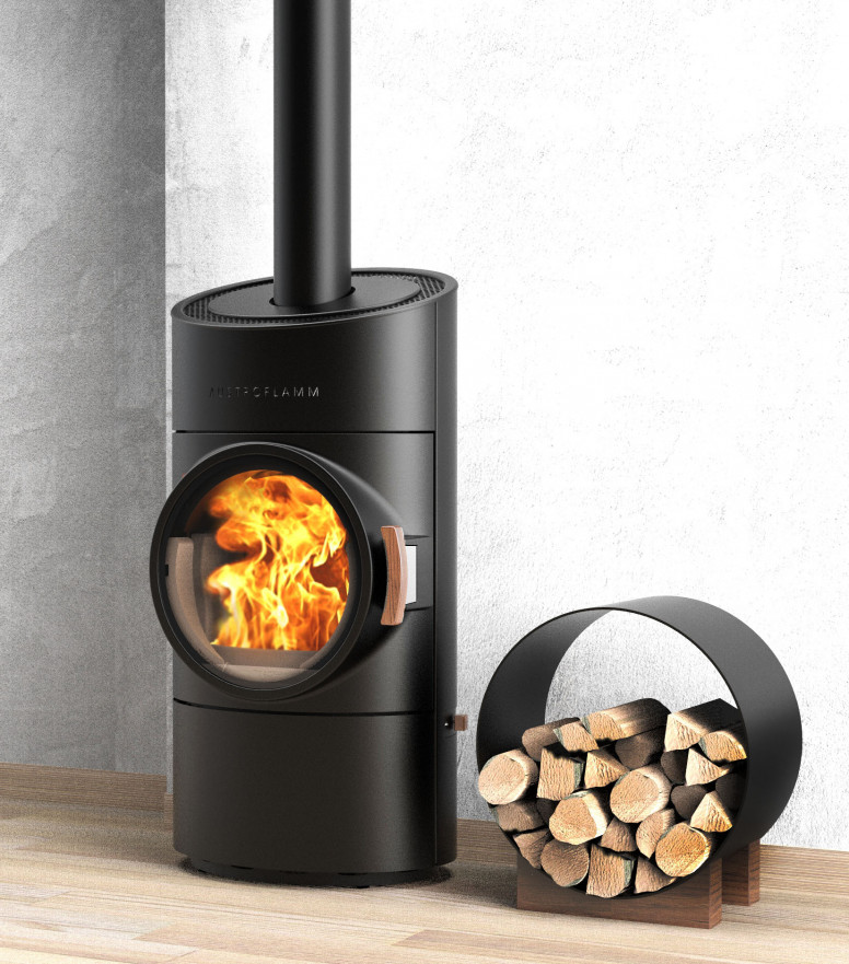 austroflam hout kachel modern clou compact