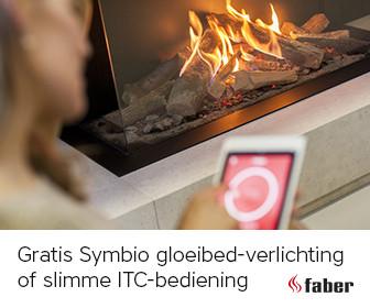Faber actie Krijg een Symbio bediening of ITC module cadeau