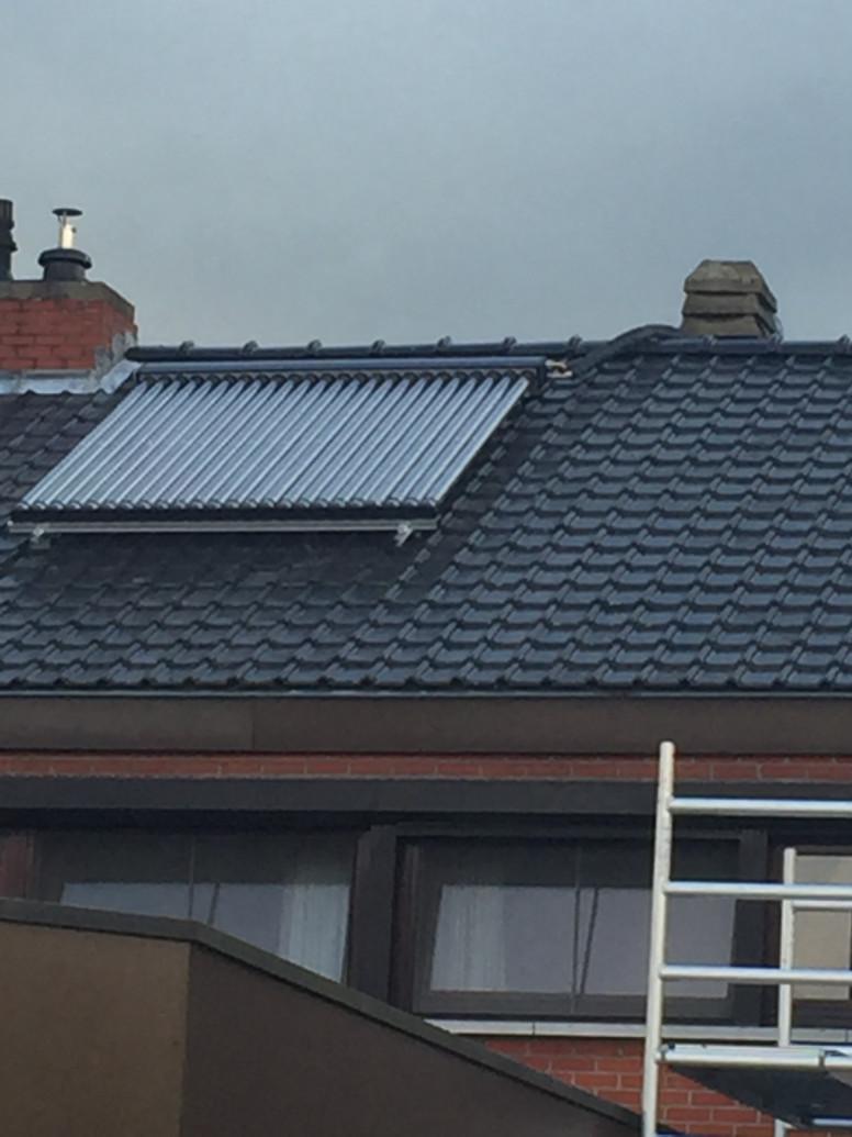 energiezuinige zonnepanelen met vacuümbuizen Viessmann
