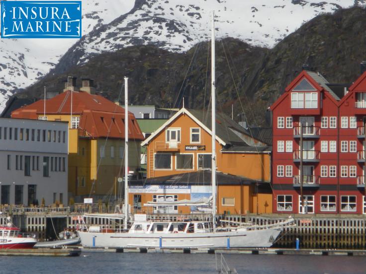 Ocean Yacht @ Lofoten Islands Norway