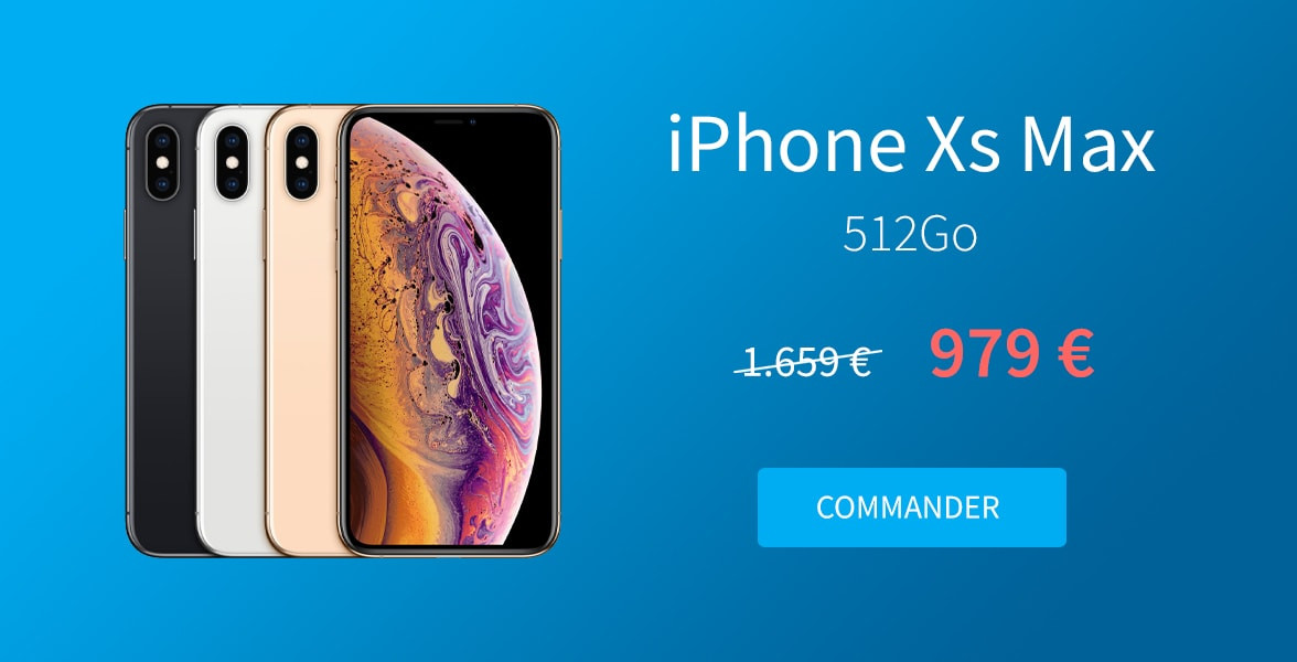 Promotion iPhone Xs Max