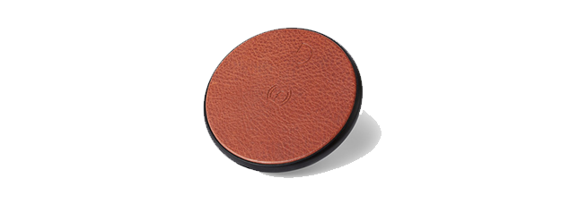 Decoded Leather Wireless Fast Charger