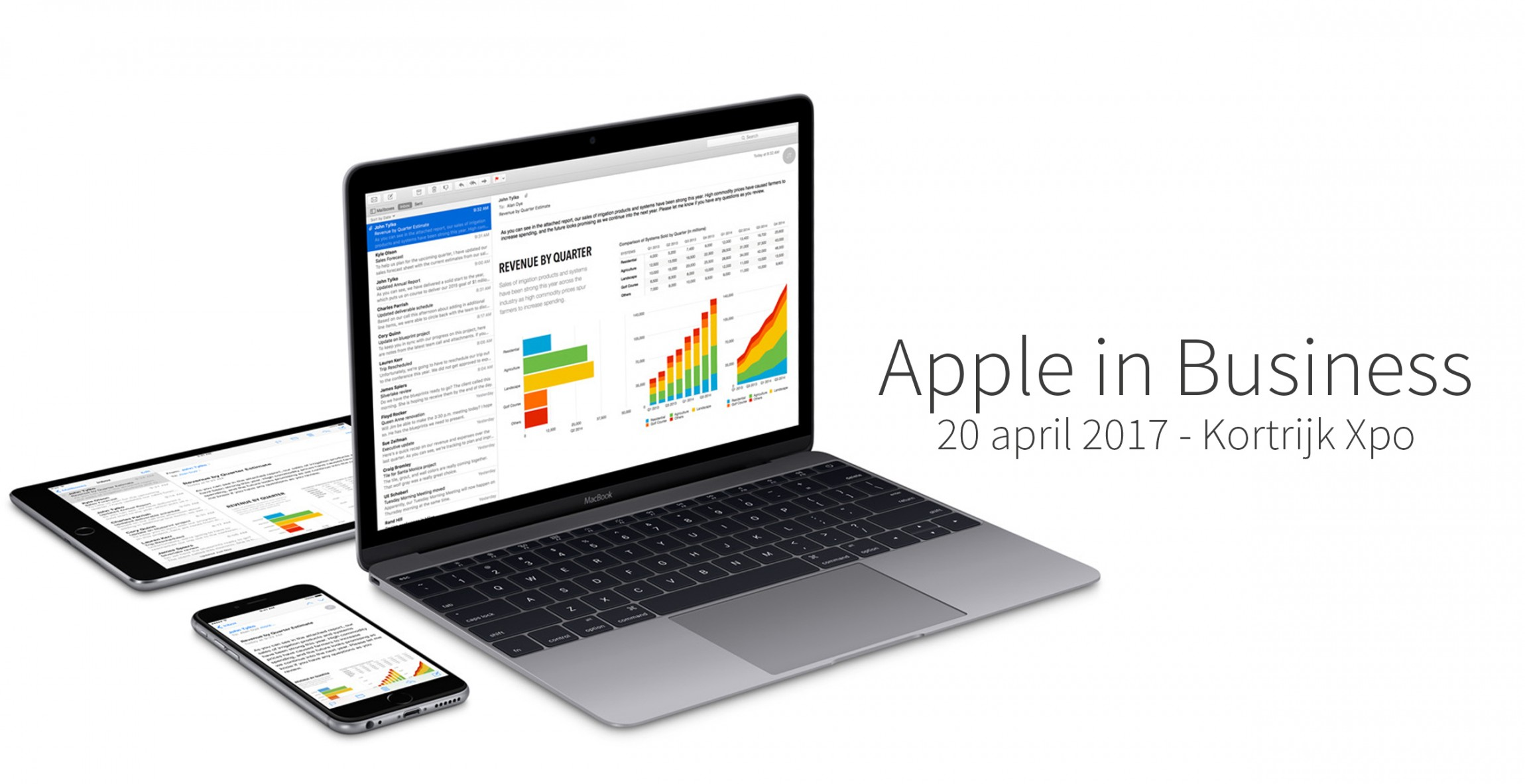Apple in Business - banner