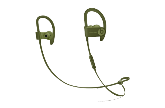 Beats Powerbeats3 - Neighborhood Collection - Vert olive