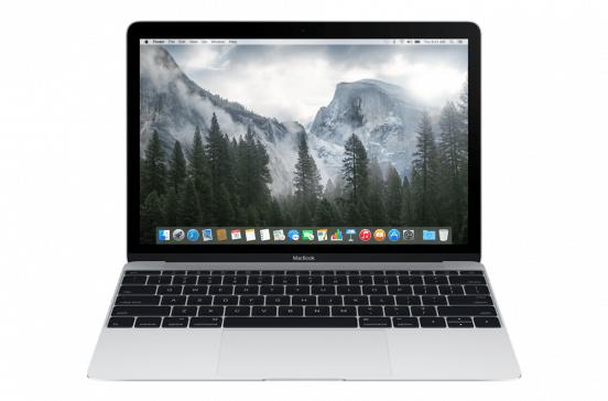 MacBook 12 pouces 1,2-GHz m3 / 8Go / 256Go - Argent