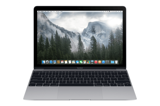 MacBook 12 pouces 1,2-GHz m3 / 8Go / 256Go - Gris sidéral