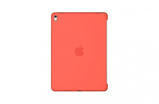 Apple Siliconenhoes voor 9,7-inch iPad Pro - Abrikoos
