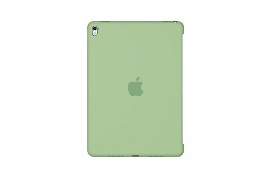 Apple Siliconenhoes voor 9,7-inch iPad Pro - Muntgroen