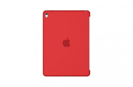 EOL Apple Siliconenhoes voor 9,7-inch iPad Pro - Product(RED)