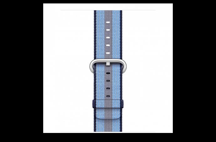 watchband-middernachtblauw gestreept-geweven-38mm.png