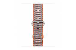 watchband-sinaasappel geruit-geweven-38mm.png