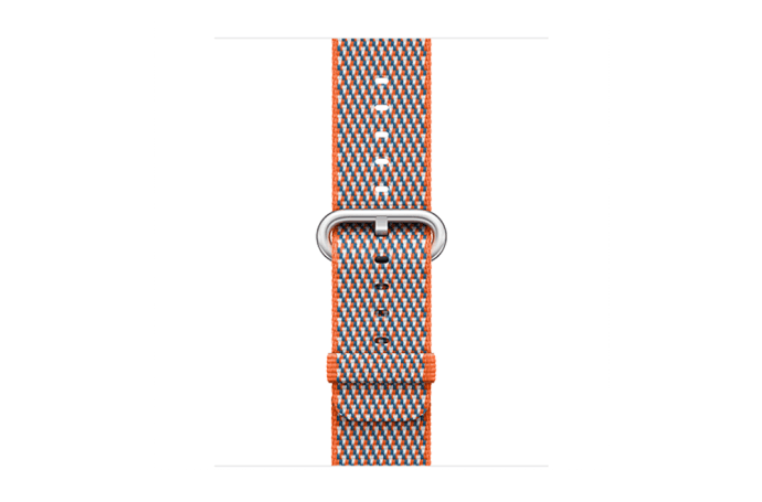 watchband-sinaasappel geruit-geweven-42mm.png