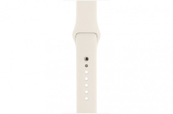Apple Watch 38mm Bracelet sport - Blanc