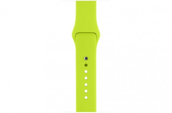 Apple Watch 38mm Bracelet sport - Vert