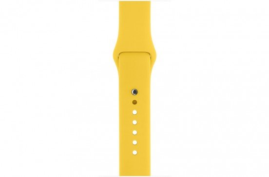 Apple Watch 42mm Bracelet de sport - Jaune