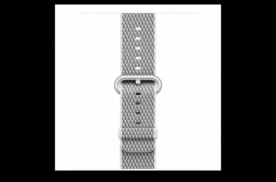 watchband-wit geruit-geweven-38mm.png
