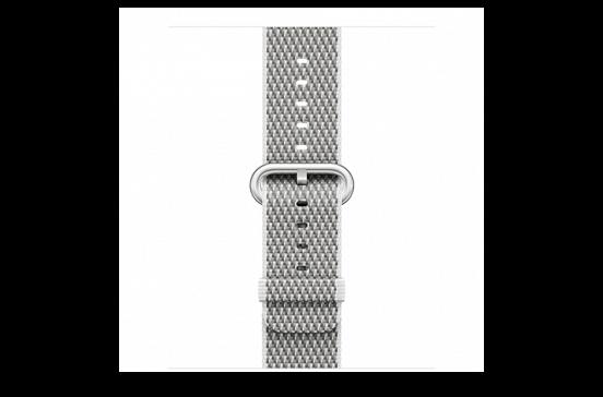 watchband-wit geruit-geweven-42mm.png