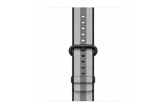 watchband-zwart gestreept-geweven-38mm.png