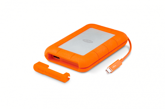 LaCie Rugged 1TB - USB3.0 / Thunderbolt