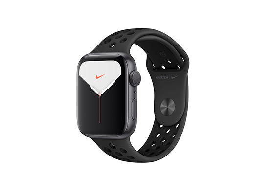 https://dpyxfisjd0mft.cloudfront.net/lab9-2/Shop/Productpages%20-%2010092019/Apple%20Watch%20Series%205/Apple%20Watch%20Series%205%20Nike/WatchSeries5Nike-44mm-AluminumSpacegrey-SportBand-BlackAnthracite-01.png?1568204226&w=552&h=364