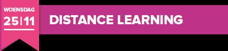 Woensdag 25 november 2020 - Distance Learning